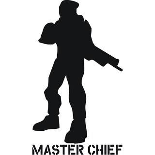 Design on Style 'Master Chief' Vinyl Art Quote