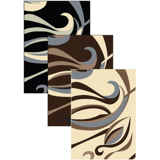 Admire Home Living Artisan Whisp Abstract Area Rug (7'9 x 11')