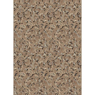 Admire Home Living Artisan Vines Floral-pattern Area Rug - 5'5 x 7'7