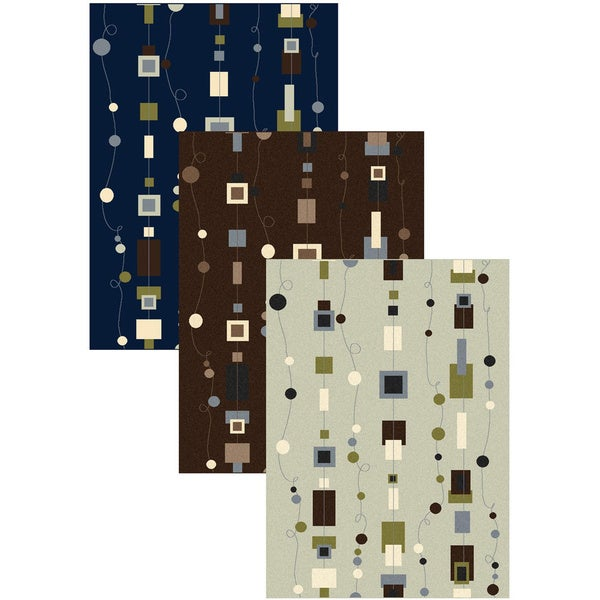 Admire Home Living Artisan Strings Abstract-pattern Area Rug - 5'5 x 7'7