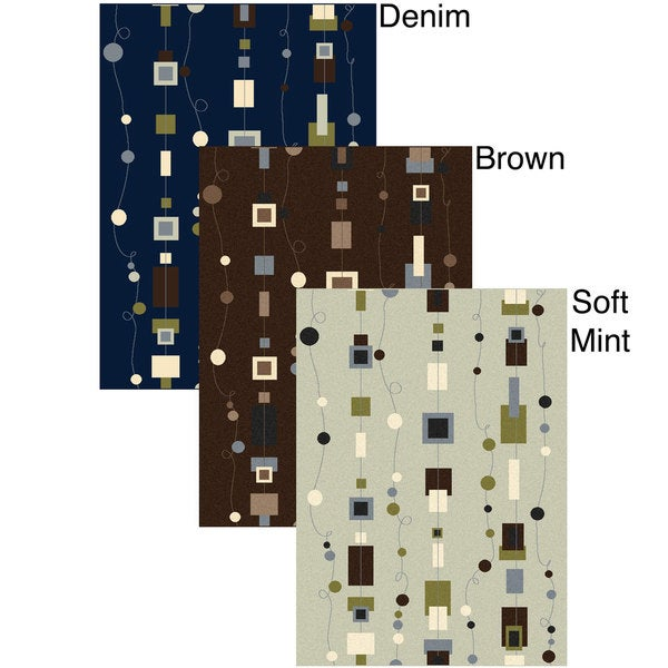 Admire Home Living Artisan Strings Abstract-pattern Area Rug