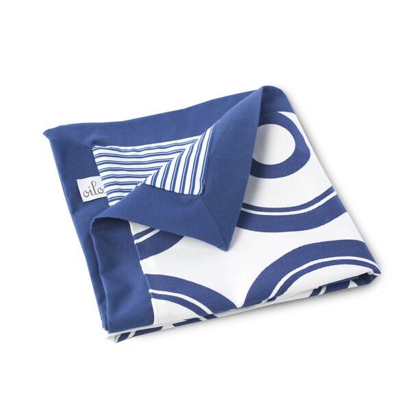 Oilo Wheels Play Blanket Cobalt Blue