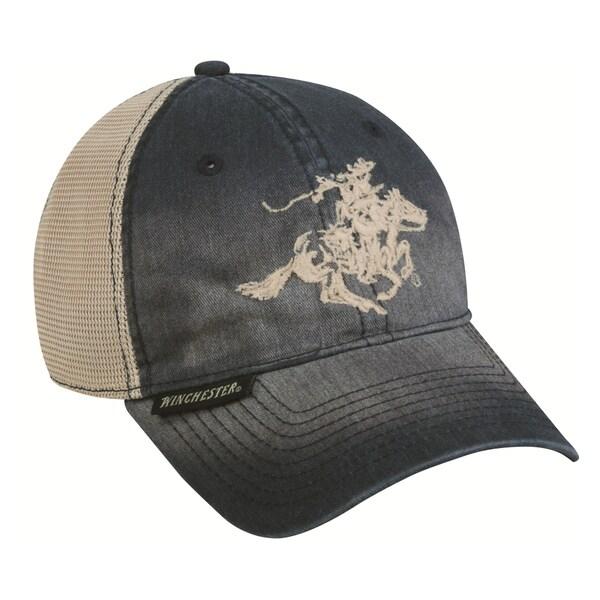 Winchester Blue Adjustable Hat