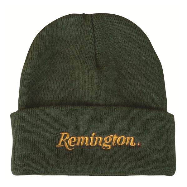 Remington Green Knit Winter Hat
