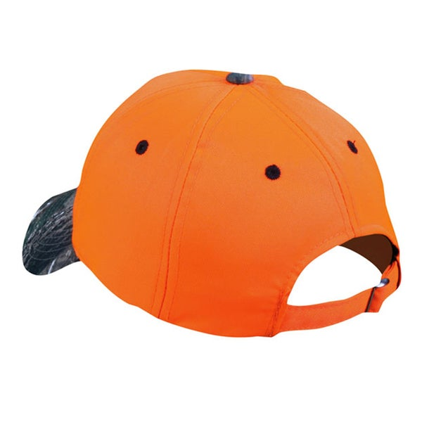 Size Matters Blaze Orange Adjustable Hat