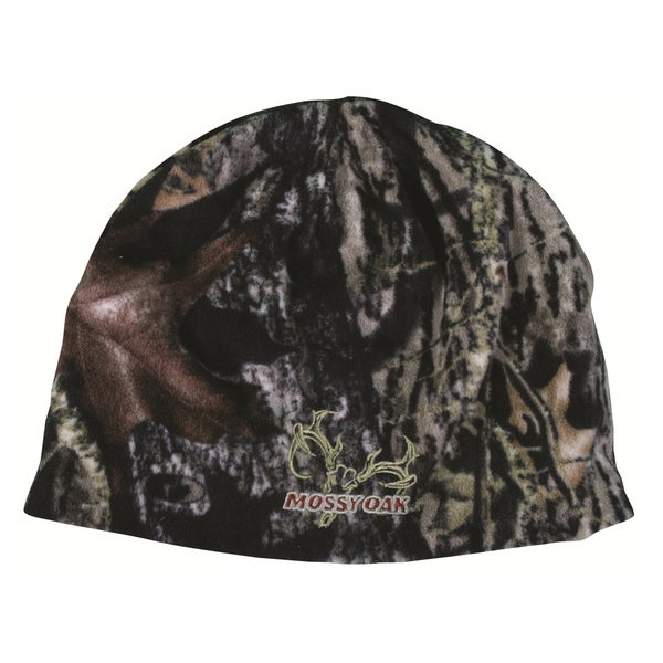 Mossy Oak Reversible Fleece Beanie Hat