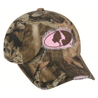 Women's Mossy Oak Camo Frayed Hat