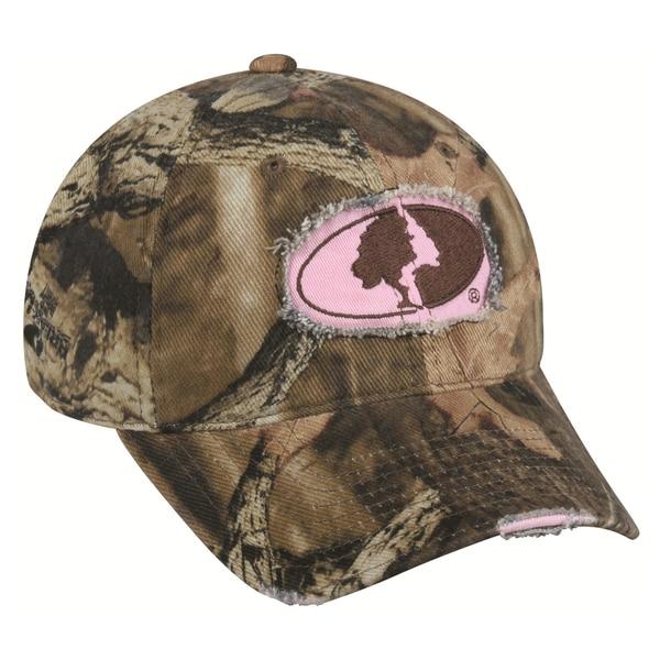 Women's Mossy Oak Camo Frayed Hat