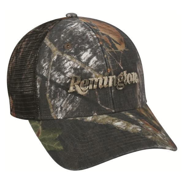Remington Camo Mesh Back Ripstop Adjustable Cap