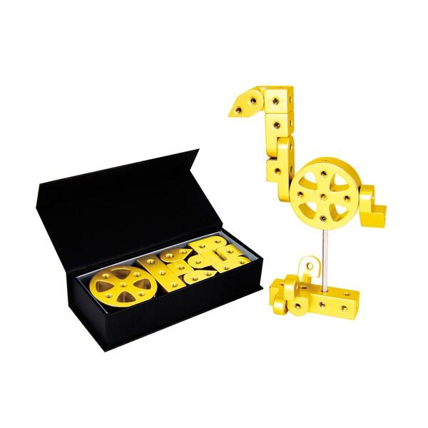 Playable Metal 'Zodiac' Model J Yellow Gold Figure
