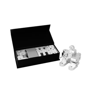 Playable Metal 'Bot' Model C Silver Figure