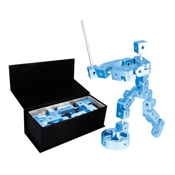 Playable Metal 'Pose' Model P Blue Figure