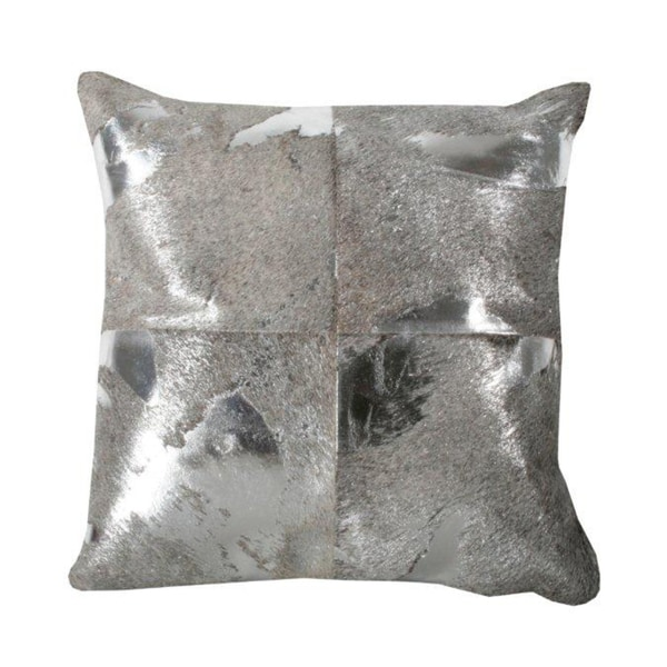 Marlo Lorenz Metallic 16-inch Decorative Pillow