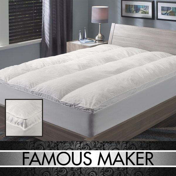 Famous Maker 300 Thread Count Extra Support Fiberbed
