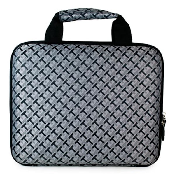 Black Checker 10-inch Hard Top Carrying Case