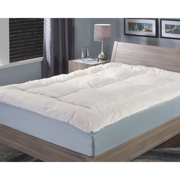 Famous Maker 300 Thread Count Allergy/ Asthma Relief Fiberbed