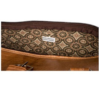 Leather Duffle Bag (Morocco)