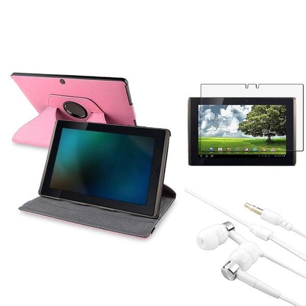 BasAcc Case/ Screen Protector/ Charger for Asus Eee Pad Transformer