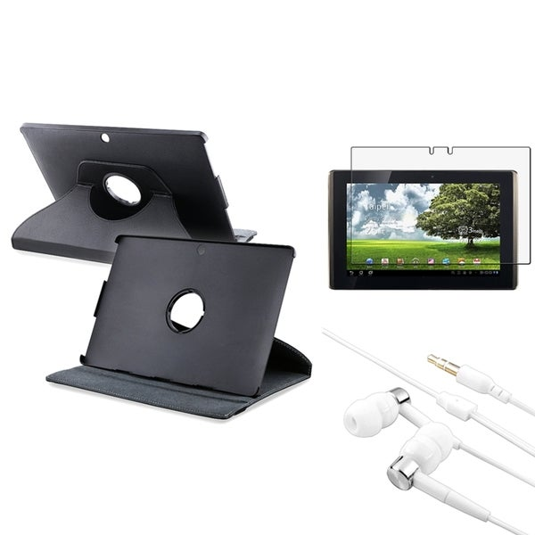 INSTEN Phone Case Cover/ Anti-scratch Screen Protector/ Headset for Asus Eee Pad Transformer