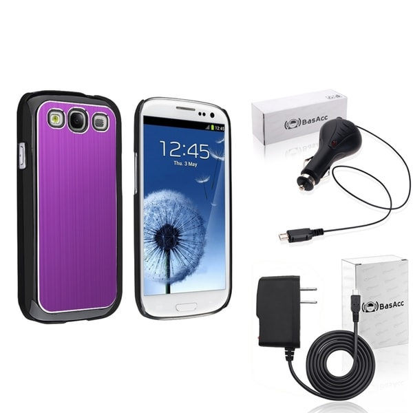 BasAcc Case/ Travel/ Car Charger for Samsung Galaxy SIII/ S3