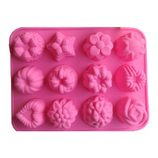 Flowers Molded Cake Silicone Baking Pan