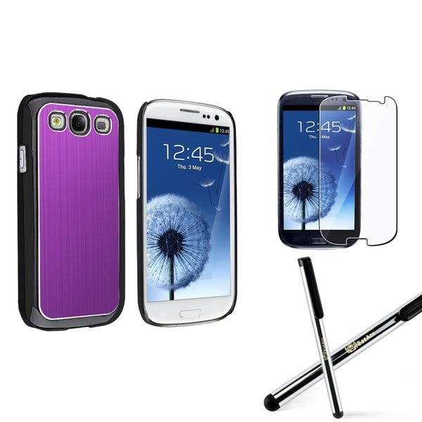 BasAcc Case/ Screen Protector/ Stylus for Samsung© Galaxy S3 i9300