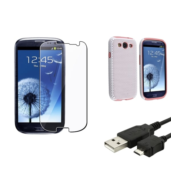 BasAcc Case/ Screen Protector/ Cable for Samsung© Galaxy S3 i9300