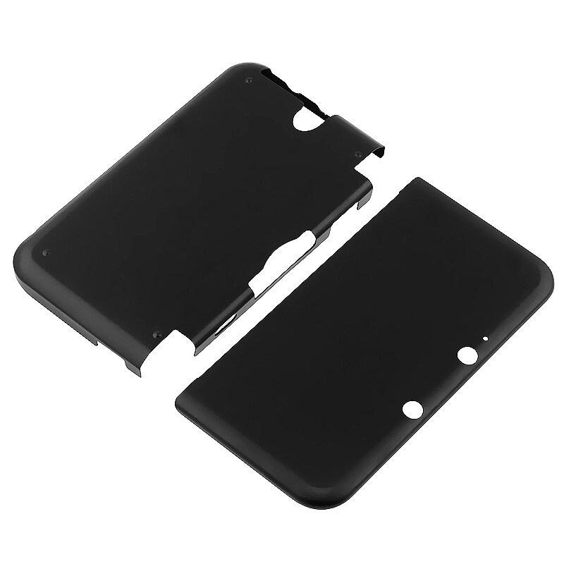 BasAcc Black Aluminum Case for Nintendo 3DS XL