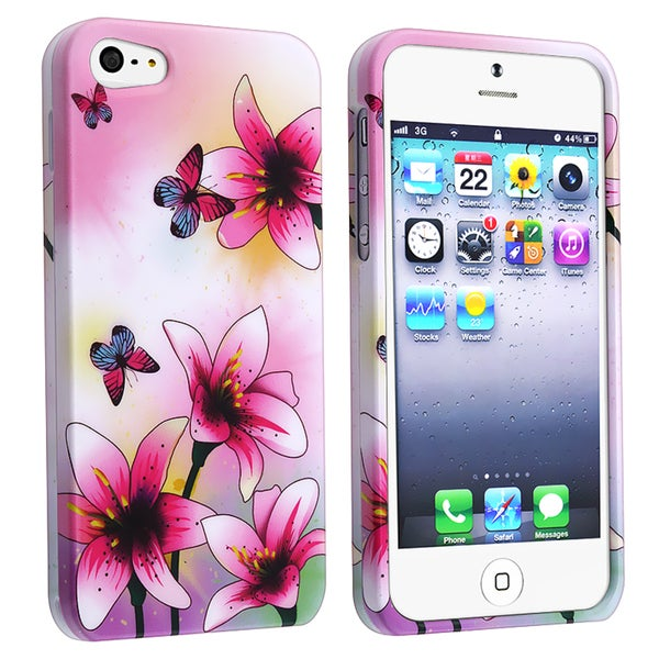 BasAcc Spring Lilies Snap-on Case for Apple iPhone 5