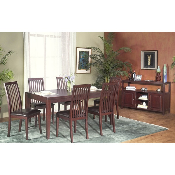 Alpine Furniture Anderson 8-piece Dining Set