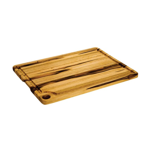 Proteak Rectangle Cutting Board with Corner Hole/ Juice Canal