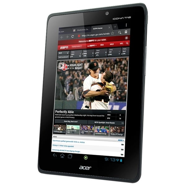 """Acer ICONIA Tab A110-07g08u Tablet - 7"""" - 1 GB DDR3 SDRAM - NVIDIA Te"""