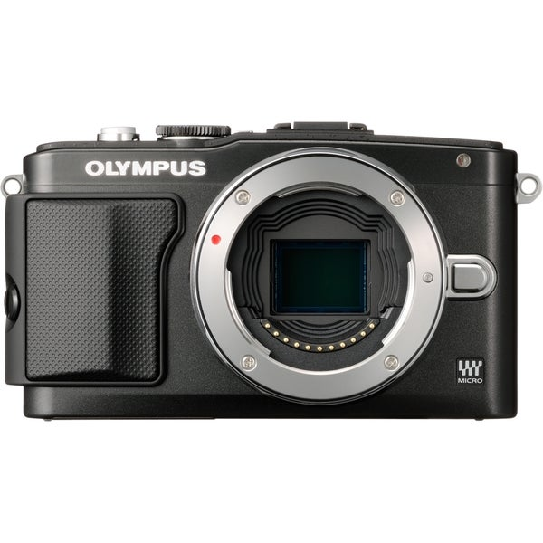 Olympus PEN E-PL5 16.1 Megapixel Mirrorless Camera Body Only - Black