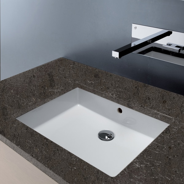Agres Under-counter Sink with Overflow
