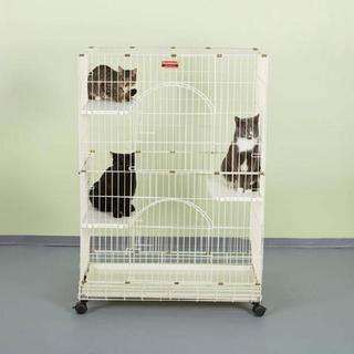 Proselect Ivory Foldable Cat Cage