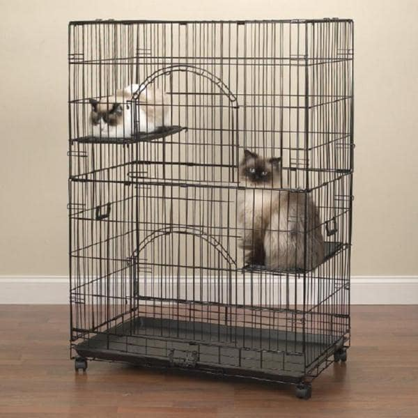 Shop Easy Cat Cage Free Shipping Today Overstock Com