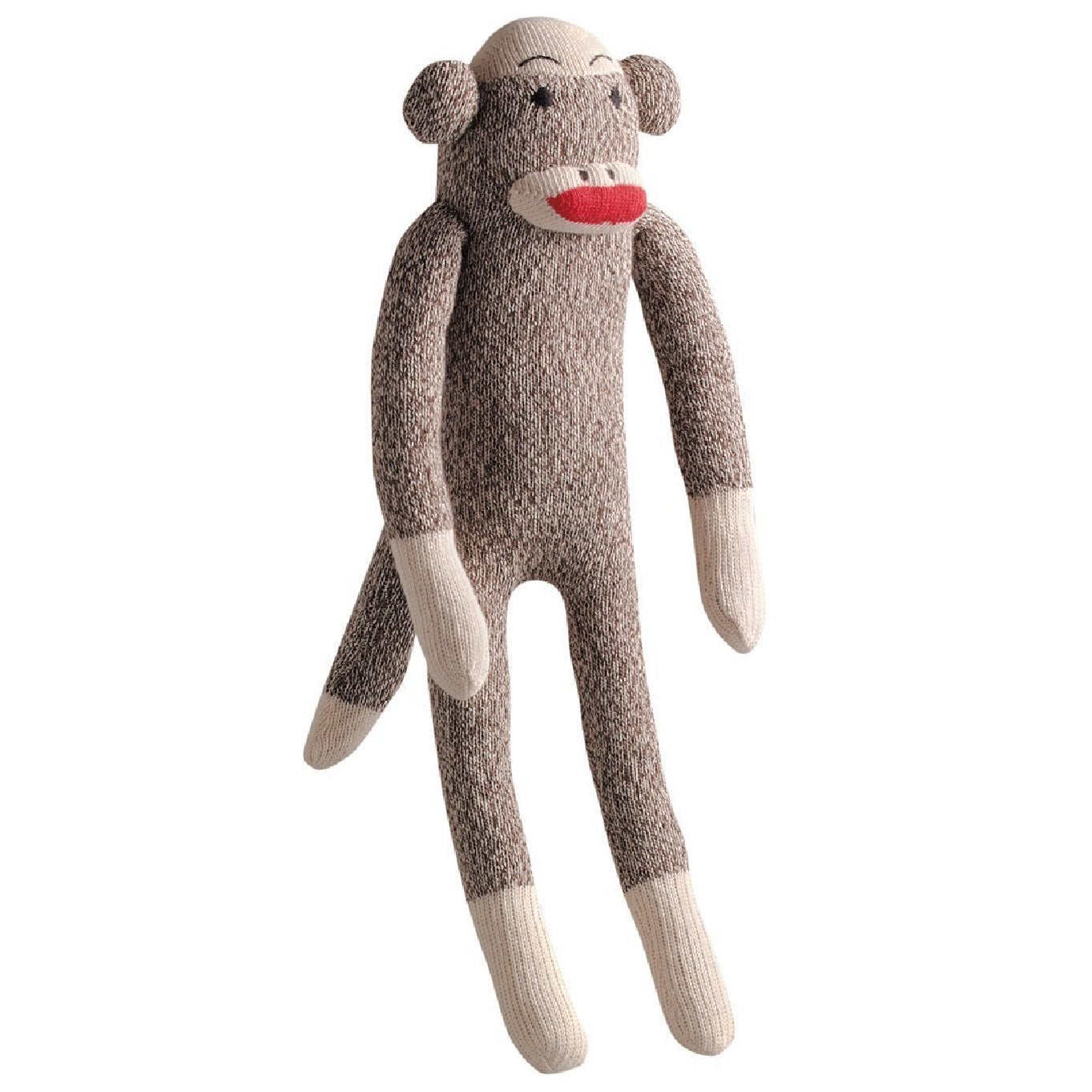 Multipet Sock Pals Monkey 10-inches (7-84369-48084-9), Brown