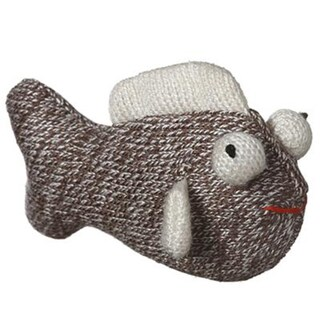 Sock Pals for Cats! FIsh Shape Toy Filled with Catnip