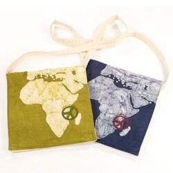 Handmade Africa Peace Messenger Bag (India)