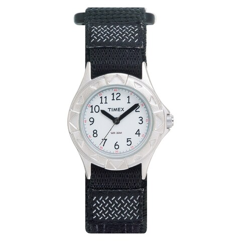 Timex Boys T79051 My First Outdoors Watch with Black Fast Wrap Velcro Strap