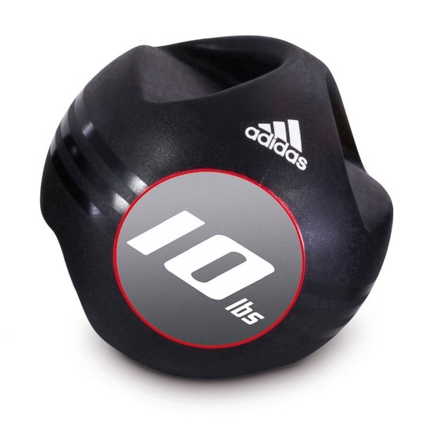 Adidas 10-pound Medicine Ball with Handles