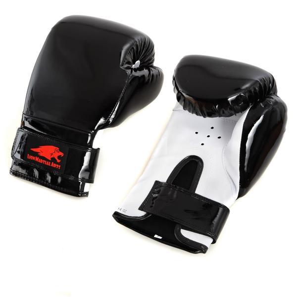 Lion Martial Arts Boxing Glove Pair (12 ounces)