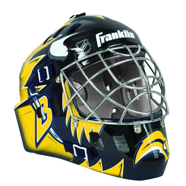 Nhl Team Buffalo Sabres Sx Comp Gfm 100 Goalie Face Mask