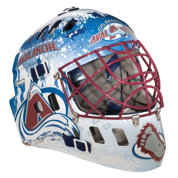 NHLTeam Colorado Avalanche SX Comp GFM 100 Goalie Face Mask