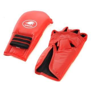 Lion Martial Arts Medium Red Grappling Glove Pair