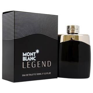 Mont Blanc Legend Men's 3.3-ounce Eau de Toilette Spray|https://ak1.ostkcdn.com/images/products/7356480/P14819002.jpg?impolicy=medium