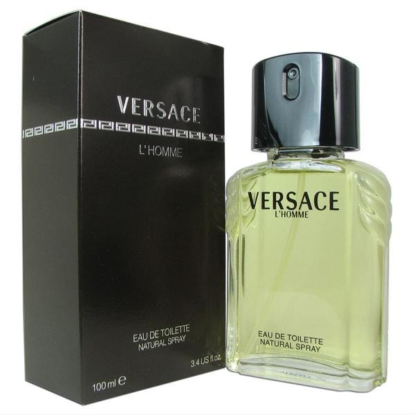 Versace L'Homme Men's 3.4-ounce Eau de Toilette Spray