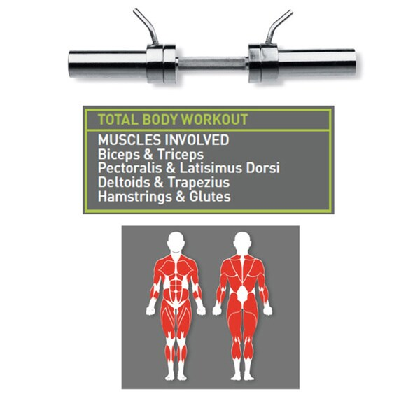 Marcy Olympic Dumbbell Handle
