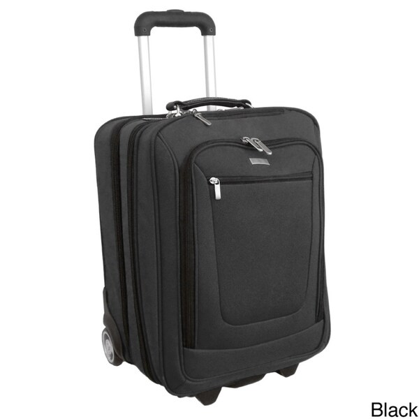 H2T Pullman 17-inch Rolling Carry-on Laptop Case Upright