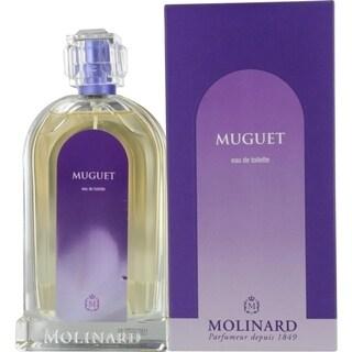Molinard Muguet Women's 3.3-ounce Eau de Toilette Spray